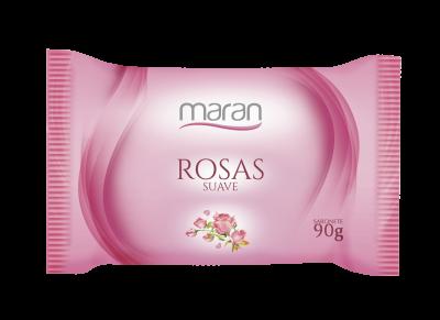SABONETE MARAN SUAVE ROSAS 90 G