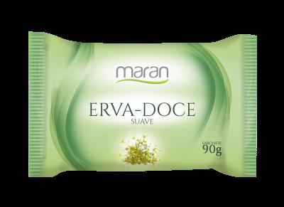 SABONETE MARAN SUAVE ERVA DOCE 90 G