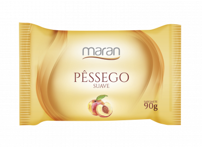 SABONETE MARAN SUAVE PÊSSEGO 90 G