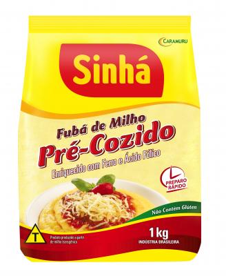 Fubá de Milho Pré-Cozido Sinhá