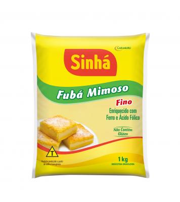 Fubá Mimoso Fino Sinhá 1kg