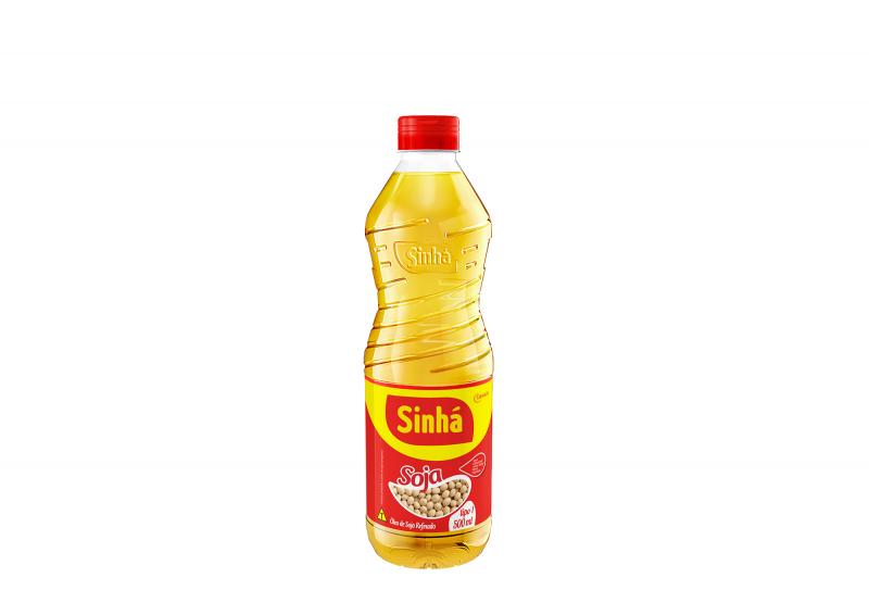 Óleo de Soja Refinado Sinhá 500ml