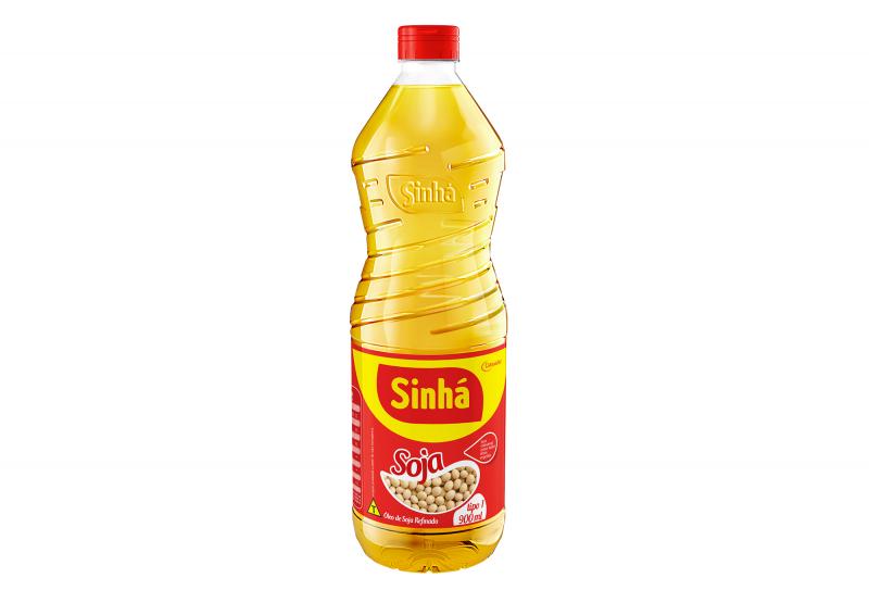 Óleo de Soja Refinado Sinhá 900ml
