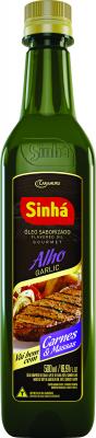 Óleo Saborizado Alho Sinhá 500ml