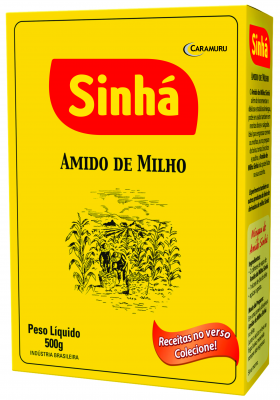 Amido de Milho Sinhá  500gr