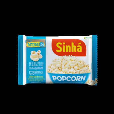 Pipoca Micro-ondas Popcorn Natutal Light Sinhá