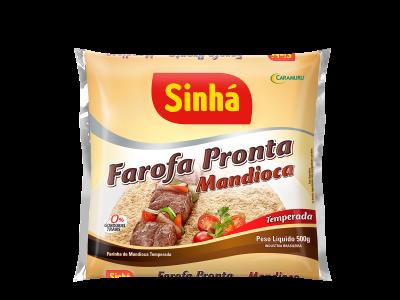 Farofa Pronta de Mandioca Sinhá 500gr
