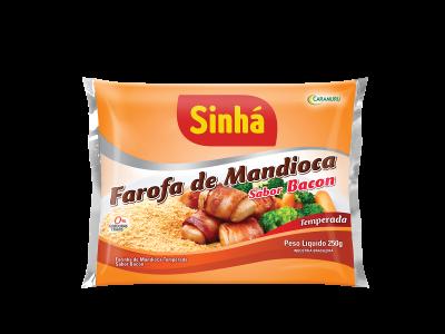 Farofa de Mandioca Bacon Sinhá