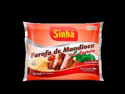 Farofa de Mandioca Costela Sinhá