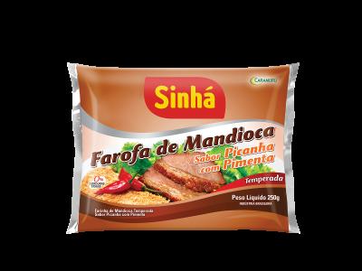 Farofa de Mandioca Picanha com Pimenta Sinhá