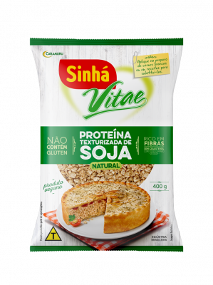 Proteína Texturizada de Soja Sinhá Vitae Natural